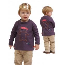 T-shirt FELIX imprimé pieuvre bonnet