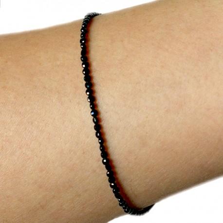 Bracelet turquoises facettées