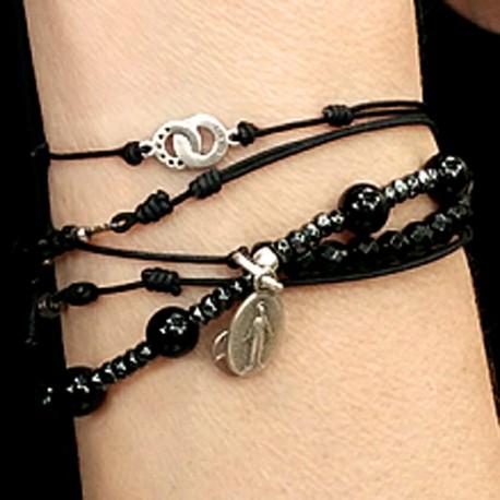 Bracelets Dizainnier onyx