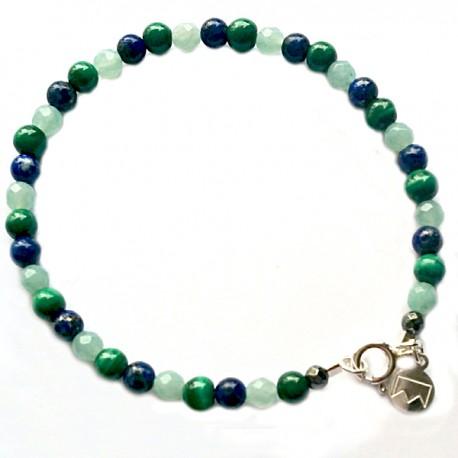 Bracelet multi-pierre
