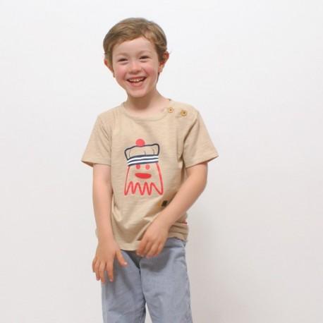 T-shirt MARIO jersey coton bio