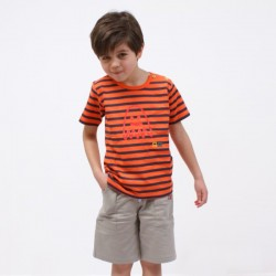 T-shirt ADRIEN jersey coton bio bébé et garçon