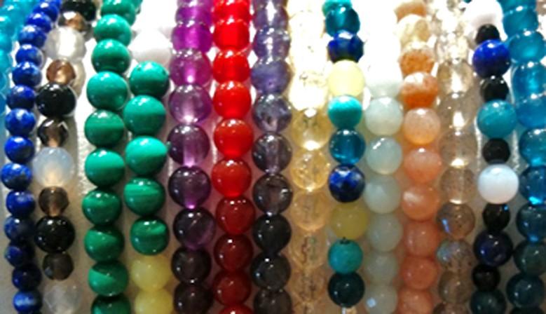 bracelets pierres véritables améthystes labradorites quartz roses onyx amazonites