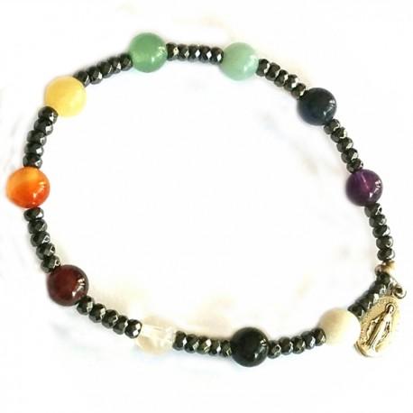 Bracelets Dizainnier 7 chakras