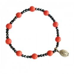 Bracelets Dizainnier Corail rose
