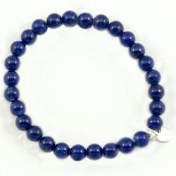 Bracelet Lapis lazuli 6mm pierres rondes