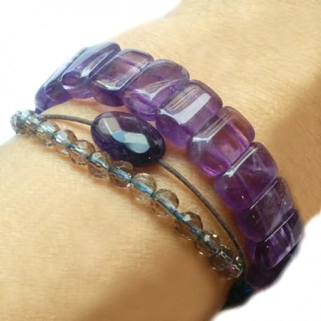 Bracelet plat Holite
