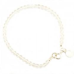 Bracelet Cristal de roche facettée