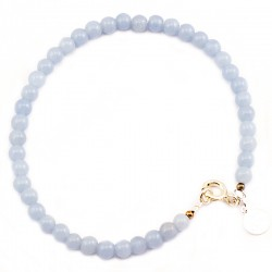 Bracelet quartz rose lisse