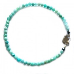 Bracelet amazonite du pérou