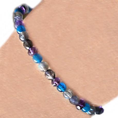 Bracelet multi pierre