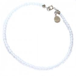 Bracelet cristaux de roches facettés