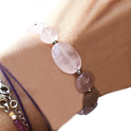 Bracelet pièce unique 19 perles de cultures baroques noires