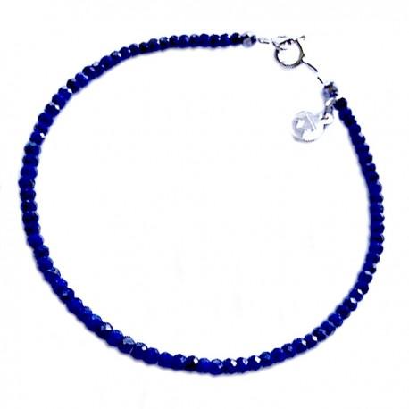 Bracelet Apatite taillée à la main