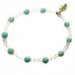 Bracelet Dizainier amazonite