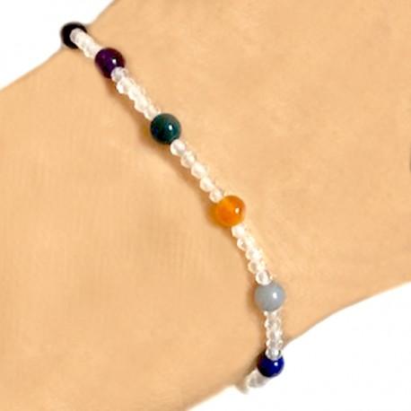 Bracelet multi- pierres