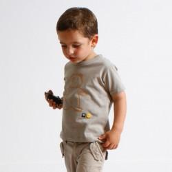 T-shirt TEDDY imprimé coton bio
